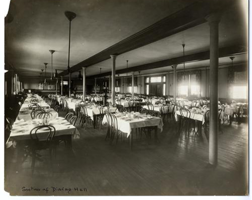 Willard Dining Hall 1915